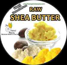 8 OZ WHITE ORGANIC NATURAL UNREFINED RAW SHEA BUTTER GRADE A - African