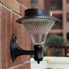 Outdoor 16LED Solar Power Path light Yard Fence Lawn Garden Landscape Wall Lamp