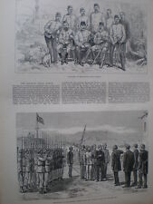 Egypt The Khedive's Sudan Field Force 1883 old prints and article