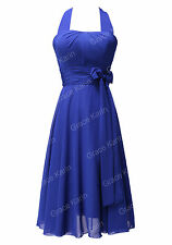 Vintage Retro Womens Bridemaid Dress Evening Party Gown Wedding Prom Dress NEW
