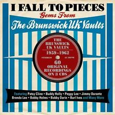 I Fall To Pieces Gems From Brunswick Uk Vaults (2013, CD NEUF)3 DISC SET
