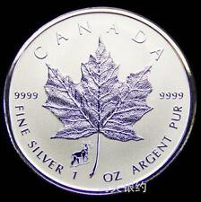 Canada 2015 Goat Maple Leaf (Privy) Silver .999 1oz Coin (UNC)