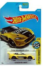 2017 Hot Wheels #80 HW Speed Graphics '15 Mazda MX-5 Miata