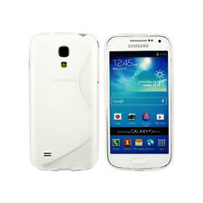 SAMSUNG Galaxy s4-Linea Grip S Onda Design Gel Trasparente Cover Custodia in silicone morbido Tpu