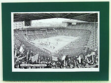 Celtic FC - Parkhead. Limited Edition Stadium Art Print by Stuart Herd