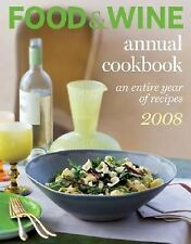 REDUCED!  Food and Wine Annual Cookbook : An Entire Year of Recipes