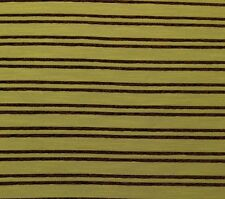 """RICHLOOM CRAZY PINSTRIPE HIMA BROWN CHENILLE FURNITURE FABRIC BY THE YARD 56""""W"""