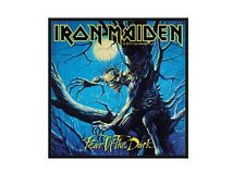 Iron Maiden ecusson brodé Neuf Officiel sous blister Fear of the dark