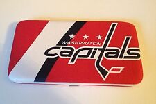 NEW WASHINGTON CAPITALS HOCKEY JERSEY CLUTCH SHELL WALLET