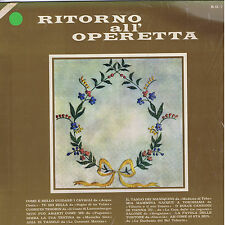 RITORNO ALL'OPERETTA  - LP MEAZZI R.O.7 - sealed SIGILLATO