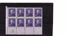 CANADA  - BENNETT - 357 -  CORNER BLOCK OF 8 - MINT - 1955