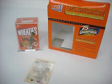 Wheaties NEW 1999 Muhammad Ali 24K Gold Signature Wheaties Mini Box Collectible