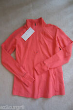 Lululemon Race With Grace 1/2 Zip II Atomic Red 10 Or 12