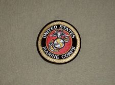 US Marine Corps USMC DOD seal full color embroidered 3 inch round jacket patch