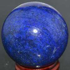 100% Natural 40mm Lapis Lazuli Crystal Gemstone Ball + Stand  AAA+