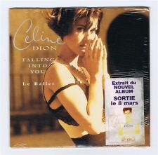 CD SINGLE NEUF 2  TITRES CELINE DION FALLING INTO YOU / LE BALLET