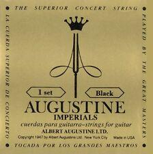 """Augustine Imperials """"Black"""" conjunto de cuerdas para guitarra clásica, I 9 *"""