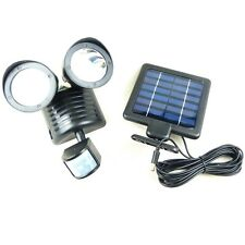 Megastore 247 -  Security Light - Solar Powered Motion Sensor Activated LED Lamp