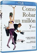 HOW TO STEAL A MILLION (1966 Audrey Hepburn)  -  Blu Ray - Sealed Region Free