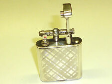 MÜLLER & GRÜNSTEIN POCKET LIFTARM LIGHTER WITH 900 SILVER CASE - 1930 - GERMANY