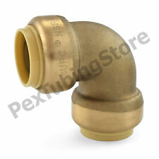 """3/4"""" Sharkbite Style (Push-Fit) Push to Connect Lead-Free Brass Elbow Fitting"""