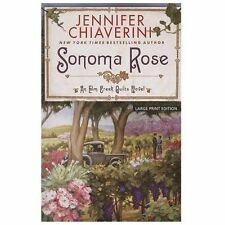 Sonoma Rose (An Elm Creek Quilts Novel)-ExLibrary