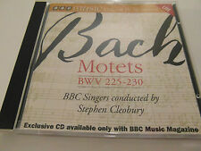 BBC Music - Bach Motets BWV 225-230 / Stepen Cleobury  (CD Album) Used very good