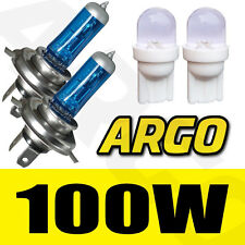 H4 100W XENON WHITE HEADLIGHT BULBS SUBARU IMPREZA WRX