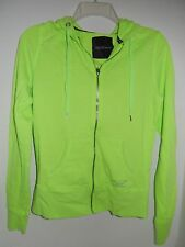 Victoria's Secret Supermodel Essentials Lime Green Small Zip Up Hoodie