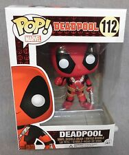 MARVEL Deadpool - Thumb Up -  POP! Vinyl Bobble-Head Figure - Funko - CREASED(a)