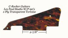 Les Paul LP Transparent Tortoise Studio Pickguard for Gibson Guitar Project NEW