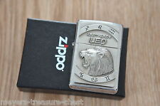 awesome ZIPPO Zodiac Leo 23.07 - 23.08 wonderful heavy plate lighter new