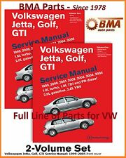 NEW Volkswagen VW Jetta Golf GTI 1999-2005 Bentley Service Repair Manual  # VG05