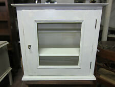 PENSILE CUCINA MENSOLA PIATTAIA SHABBY CHIC OLD WOOD KITCHEN WALL CABINET