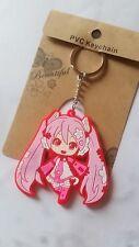 Anime Hatsune Miku Key Chain Cosplay Key Ring Gift #55