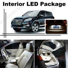 For Toyota Rav4 2006-2016 Xenon White LED Interior kit + White License Light LED