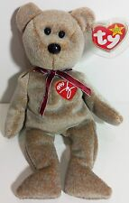 """TY Beanie Babies """"1999 SIGNATURE BEAR"""" - New with Tag - MWMT! MUST HAVE! RETIRED"""