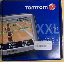 "TomTom XXL 530S 5"" Touchscreen Portable GPS with Text to Speech & IQ Routes NEW"