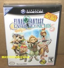 GC Final Fantasy: Crystal Chronicles New Sealed (Nintendo GameCube, 2004) & Wii