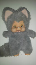 1979 Vintage Nyamy Waschino FELINA Cat,Kitten Monchichi Vinyl Face RARE!