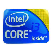 Intel Core i3 all'interno adesivo badge 1st Generazione-Logo Desktop - 25mm x 18mm