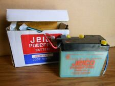 NOS New Motorcycle Battery Jeico Vintage 6V DT100 RS100 6N4B-2A-3