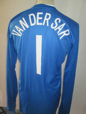 Holland 2008-2009 Player Van Der Sar B Goalkeeper Football Shirt Size Large /she