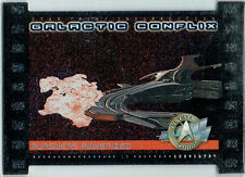 STAR TREK CINEMA 2000 GALACTIC CONFLIX CARD GC9/750