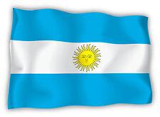 Argentina Argentinien Argentine bandiera etichetta flag sticker 15cm x 11cm