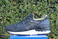 ASICS GEL LYTE V SZ 12 GOLD RUSH PACK BLACK GOLD H605L 9090