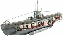 German Submarine U-47 w/Interior 1/125 scale skill 4 Revell model kit#5060