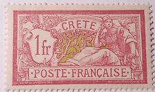 FRANCE-FRENCH OFFICES IN CRETE MINT/NH...WORLDWIDE STAMPS