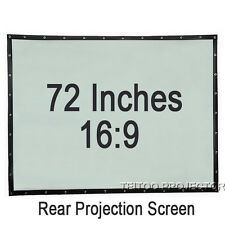 "72""16:9 Cheap Price Foldable Portable Rear Back Projection Screen for Projectors"