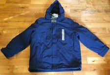 NWT Mens ZEROXPOSUR Navy Therm-X Power Stretch Jacket Coat Size L $220